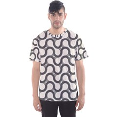 Shutterstock Wave Chevron Grey Men s Sport Mesh Tee by Alisyart