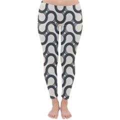 Shutterstock Wave Chevron Grey Classic Winter Leggings