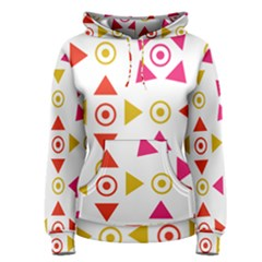 Spectrum Styles Pink Nyellow Orange Gold Women s Pullover Hoodie