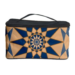 Stellated Regular Dodecagons Center Clock Face Number Star Cosmetic Storage Case by Alisyart