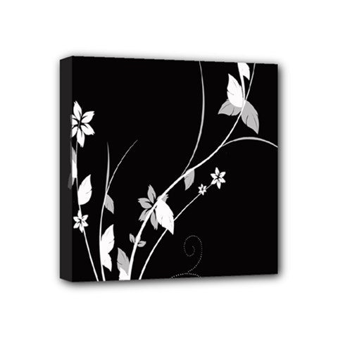 Plant Flora Flowers Composition Mini Canvas 4  X 4  by Simbadda