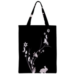 Plant Flora Flowers Composition Zipper Classic Tote Bag by Simbadda