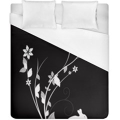 Plant Flora Flowers Composition Duvet Cover (california King Size) by Simbadda