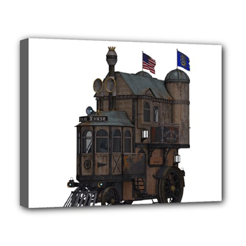 Steampunk Lock Fantasy Home Deluxe Canvas 20  X 16