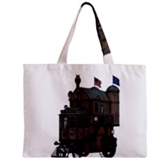 Steampunk Lock Fantasy Home Zipper Mini Tote Bag by Simbadda