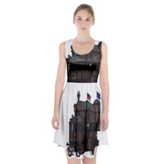 Steampunk Lock Fantasy Home Racerback Midi Dress by Simbadda