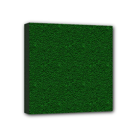 Texture Green Rush Easter Mini Canvas 4  x 4