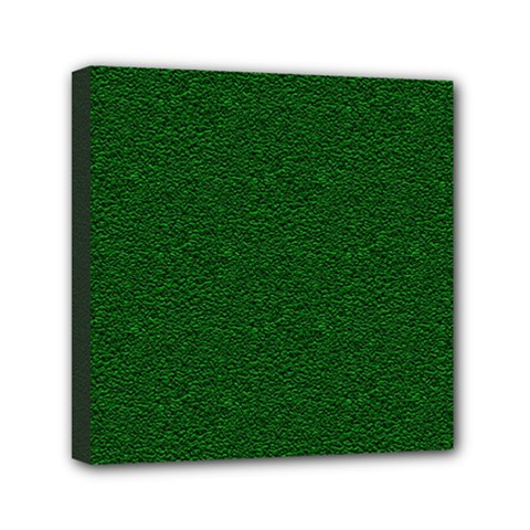 Texture Green Rush Easter Mini Canvas 6  x 6