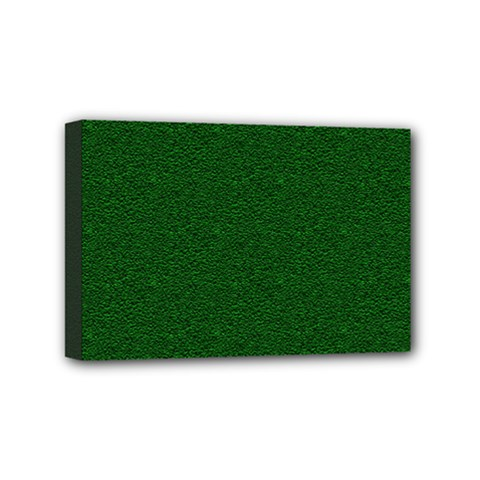Texture Green Rush Easter Mini Canvas 6  x 4
