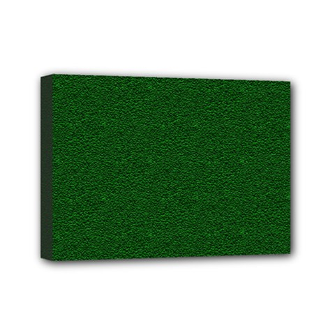 Texture Green Rush Easter Mini Canvas 7  x 5