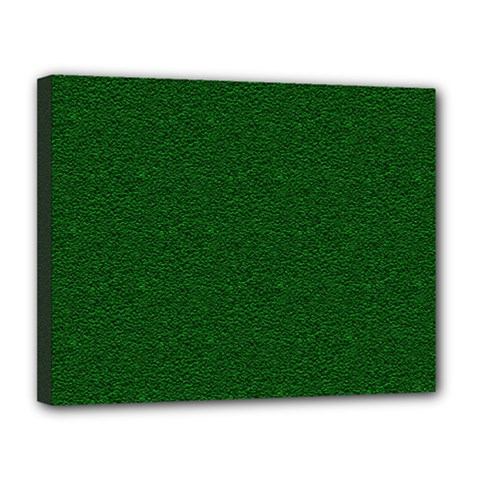 Texture Green Rush Easter Canvas 14  x 11