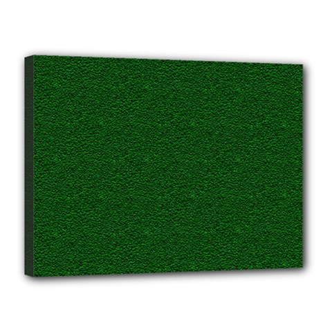 Texture Green Rush Easter Canvas 16  x 12
