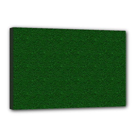 Texture Green Rush Easter Canvas 18  X 12  by Simbadda