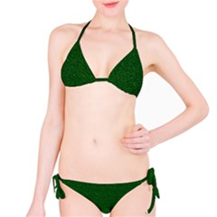 Texture Green Rush Easter Bikini Set by Simbadda