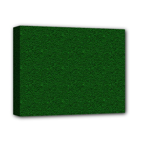 Texture Green Rush Easter Deluxe Canvas 14  x 11
