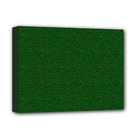 Texture Green Rush Easter Deluxe Canvas 16  x 12