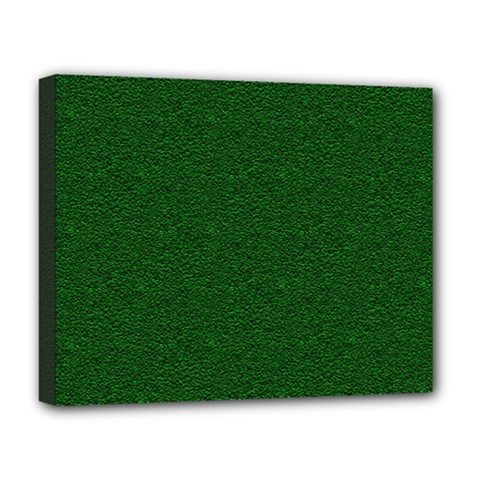 Texture Green Rush Easter Deluxe Canvas 20  x 16