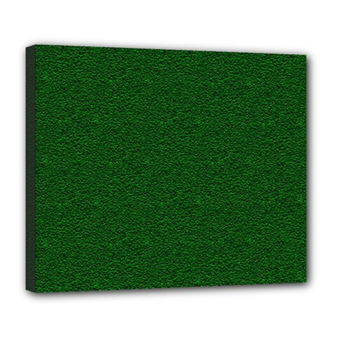 Texture Green Rush Easter Deluxe Canvas 24  x 20