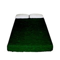 Texture Green Rush Easter Fitted Sheet (Full/ Double Size)