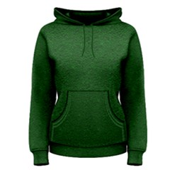 Texture Green Rush Easter Women s Pullover Hoodie by Simbadda