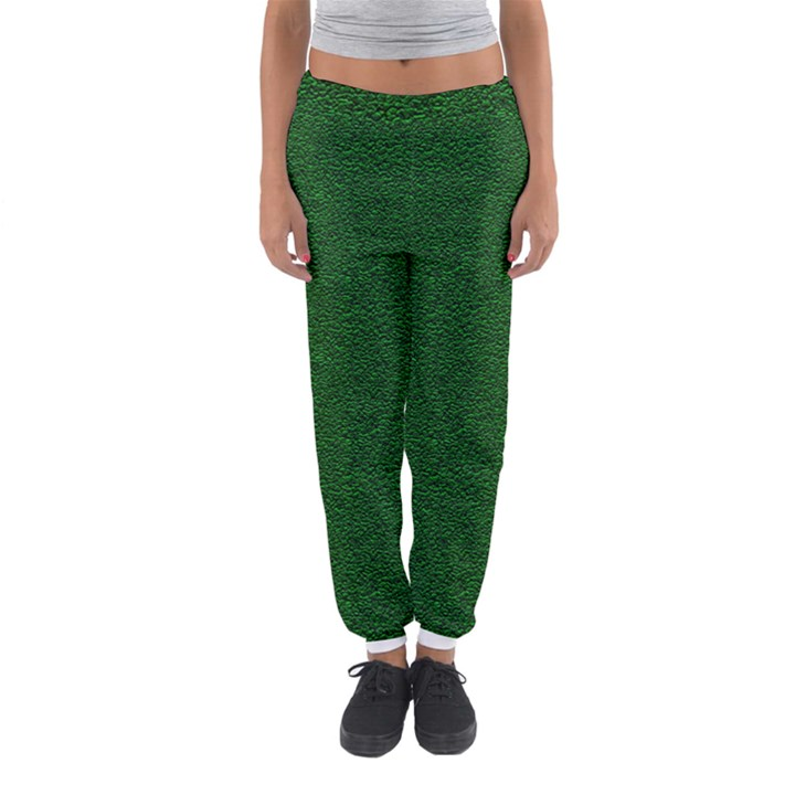 Texture Green Rush Easter Women s Jogger Sweatpants