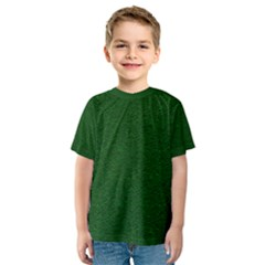 Texture Green Rush Easter Kids  Sport Mesh Tee by Simbadda