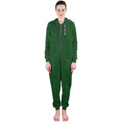 Texture Green Rush Easter Hooded Jumpsuit (ladies)  by Simbadda