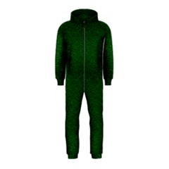Texture Green Rush Easter Hooded Jumpsuit (kids) by Simbadda