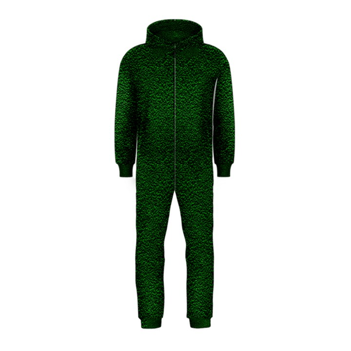 Texture Green Rush Easter Hooded Jumpsuit (Kids)
