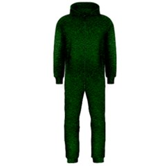 Texture Green Rush Easter Hooded Jumpsuit (men)  by Simbadda