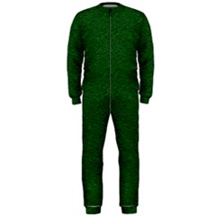 Texture Green Rush Easter Onepiece Jumpsuit (men)  by Simbadda