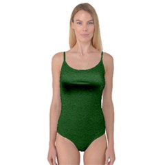 Texture Green Rush Easter Camisole Leotard  by Simbadda