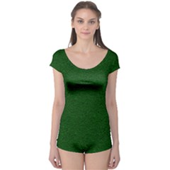 Texture Green Rush Easter Boyleg Leotard  by Simbadda