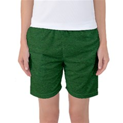 Texture Green Rush Easter Women s Basketball Shorts