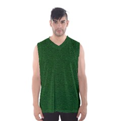 Texture Green Rush Easter Men s Basketball Tank Top by Simbadda