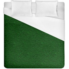 Texture Green Rush Easter Duvet Cover (King Size)