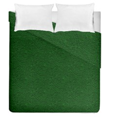 Texture Green Rush Easter Duvet Cover Double Side (Queen Size)