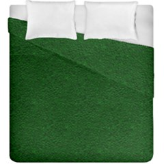 Texture Green Rush Easter Duvet Cover Double Side (King Size)