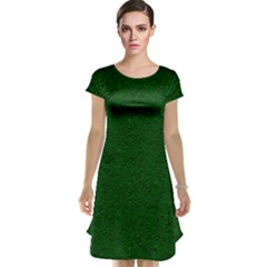 Texture Green Rush Easter Cap Sleeve Nightdress by Simbadda