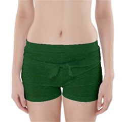 Texture Green Rush Easter Boyleg Bikini Wrap Bottoms by Simbadda