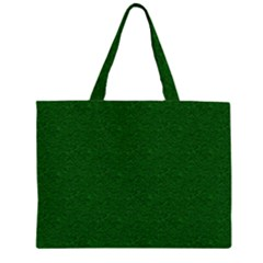 Texture Green Rush Easter Zipper Large Tote Bag