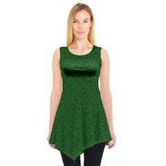 Texture Green Rush Easter Sleeveless Tunic by Simbadda