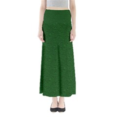 Texture Green Rush Easter Maxi Skirts by Simbadda