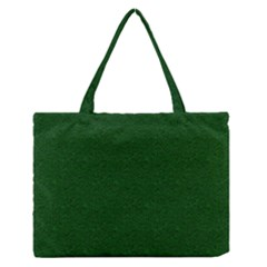 Texture Green Rush Easter Medium Zipper Tote Bag