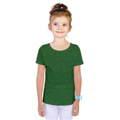 Texture Green Rush Easter Kids  One Piece Tee by Simbadda