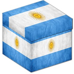 Argentina Texture Background Storage Stool 12