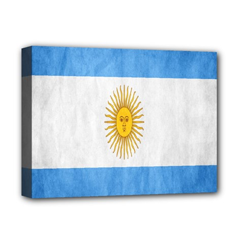 Argentina Texture Background Deluxe Canvas 16  X 12