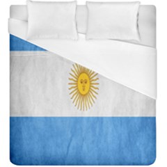Argentina Texture Background Duvet Cover (king Size)