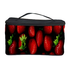 Berry Strawberry Many Cosmetic Storage Case by Simbadda