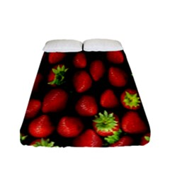 Berry Strawberry Many Fitted Sheet (full/ Double Size) by Simbadda